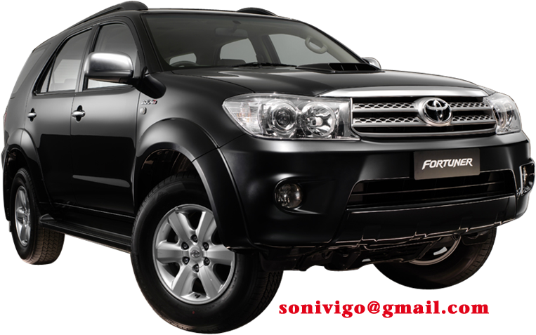 Toyota Fortuner 2010 2009 model lineup includes 5 models: