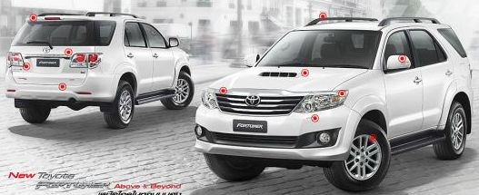 2012 Toyota Fortuner available now at Thailand top car pickup suv exporter Soni Motors Thailand