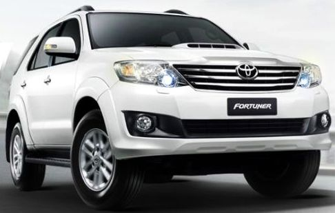2012 2011 2013 Toyota Fortuner available now at Soni Motors Thailand