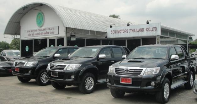 Thailand Toyota Vigo , Toyota Fortuner , L200 Triton , Nissan Navara