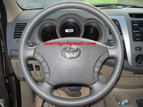 steering of LHD Toyota Hilux Vigo 2010 2009