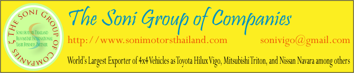 Link to Thailand's top exporter of 4x4 vehicles
