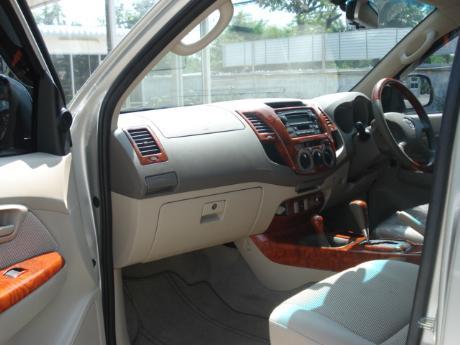 new Toyota Hilux Vigo Double Cab at Thailand's top Toyota Hilux Vigo